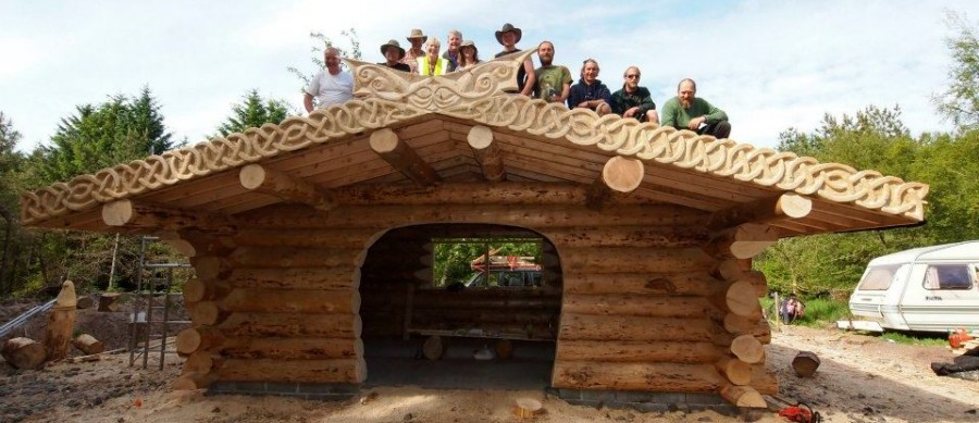 Dunnet Forestry Trust Woodland Shelter Project